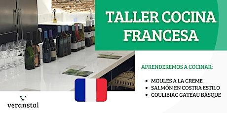 Taller de cocina Francesa entradas