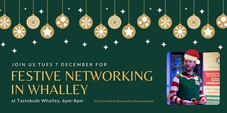 Festive business networking at Tastebuds in Whalley - December 2021 tickets