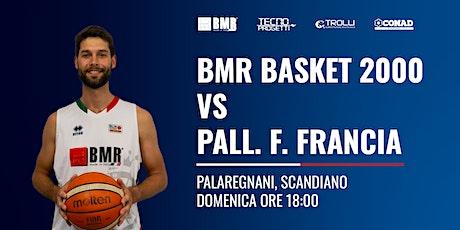 Serie C GOLD-2° Giornata: Basket 2000 RE - AD F. Francia Pallacanestro biglietti
