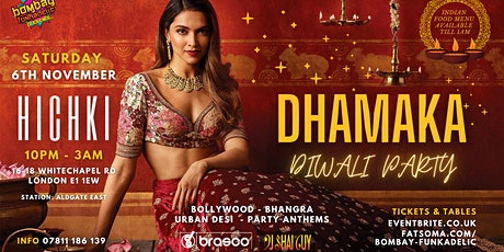 Dhamaka Diwali Party tickets