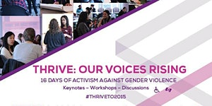 THRIVE: Our Voice Rising Forum