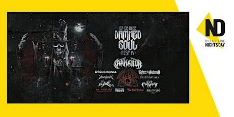 Damned Soul Fest IV billets