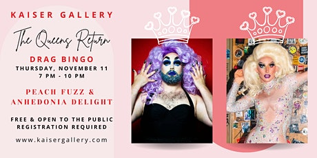 DRAG BINGO:  Featuring Peach Fuzz and Anhedonia Delight tickets