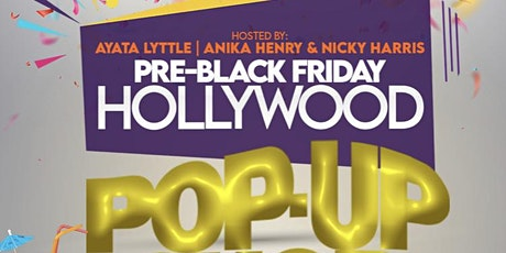 Hollywood Pop-Up-Shop tickets