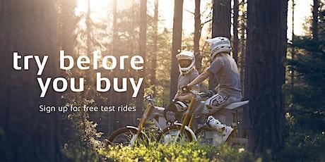 CAKE Test Ride in Arncott Moto Park with EmotoUK, UK tickets