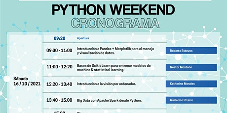 Python Weekend | Data Science Month entradas