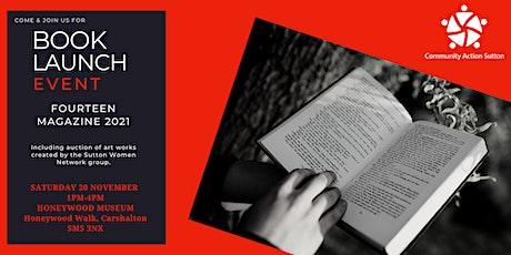 Book Launch Event - FOURTEEN MAGAZINE 2021 tickets
