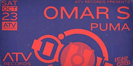 Omar S at ATV Records tickets