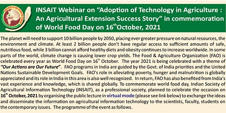 Adoption of Technology in Agriculture: Agricultural Extension Success Story tickets