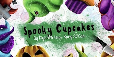 Kids Halloween Cupcake Class tickets