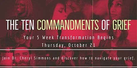 10 Commandments of Grief tickets