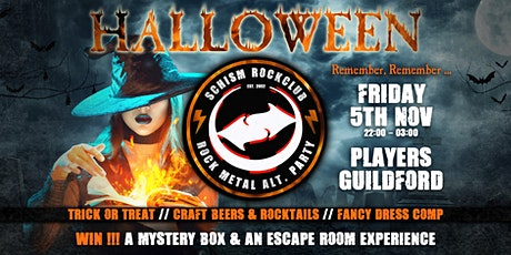 Schism Guildford - Halloween Special tickets