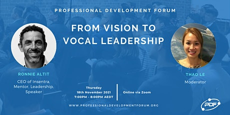 From Vision to VOCAL Leadership tickets