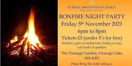 Bonfire Night at the Vicarage tickets