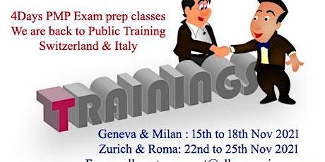 PMP Training in Geneva billets