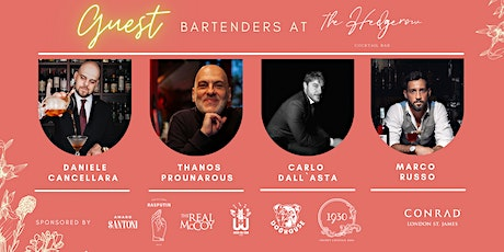 London Cocktail Month:  Bartender Takeovers at The Hedgerow Bar tickets