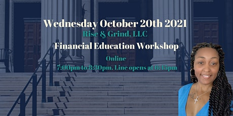 Financial Education Workshop Tickets