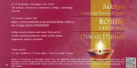 Diwali Dinner (Roshni, a ray of hope) tickets