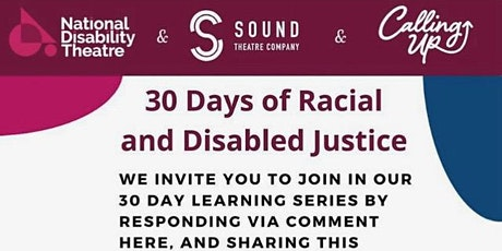 Theatre at the Crossroads of Racial & Disabled Justice: A  Conversation tickets