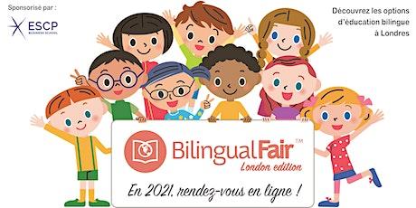 Salon de l'éducation bilingue à Londres - En ligne tickets