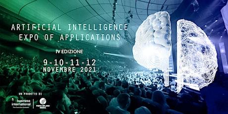 AIXA 2021 - Artificial Intelligence Expo of Applications biglietti