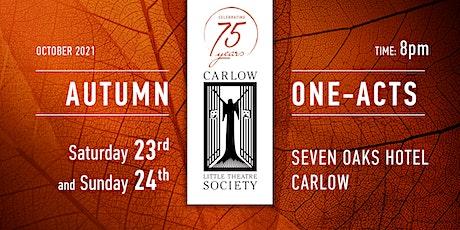 Carlow Little Theatre Society - AUTUMN ONE-ACT SEASON tickets