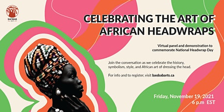 Celebrating the Art of African Headwraps tickets