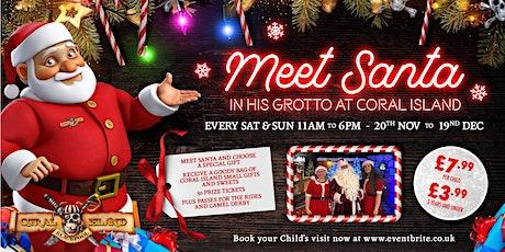 Meet Santa at Coral Island Blackpool 2021 tickets