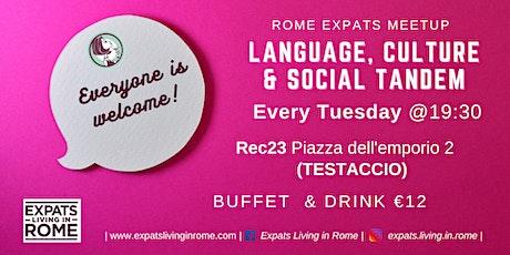 Tuesday Language, Culture & Social Tandem | Testaccio biglietti