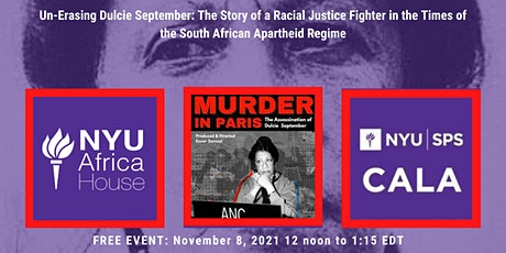 Un-erasing Dulcie September: The Story of a Racial Justice Fighter tickets