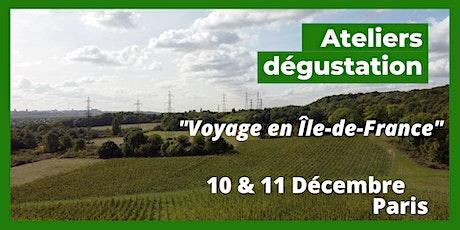 Voyage en Ile de France billets