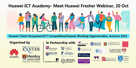 HICTA Freshers' Welcome Webinar (Oct, 20,2021,13:00-14:30 pm, GMT) tickets