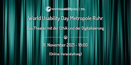 ruhrWUD 2021 - Das Theater mit der Ethik und der Digitalisierung Tickets