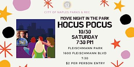 Outdoor Movie Night - Hocus Pocus - Fleischmann Park Halloween tickets