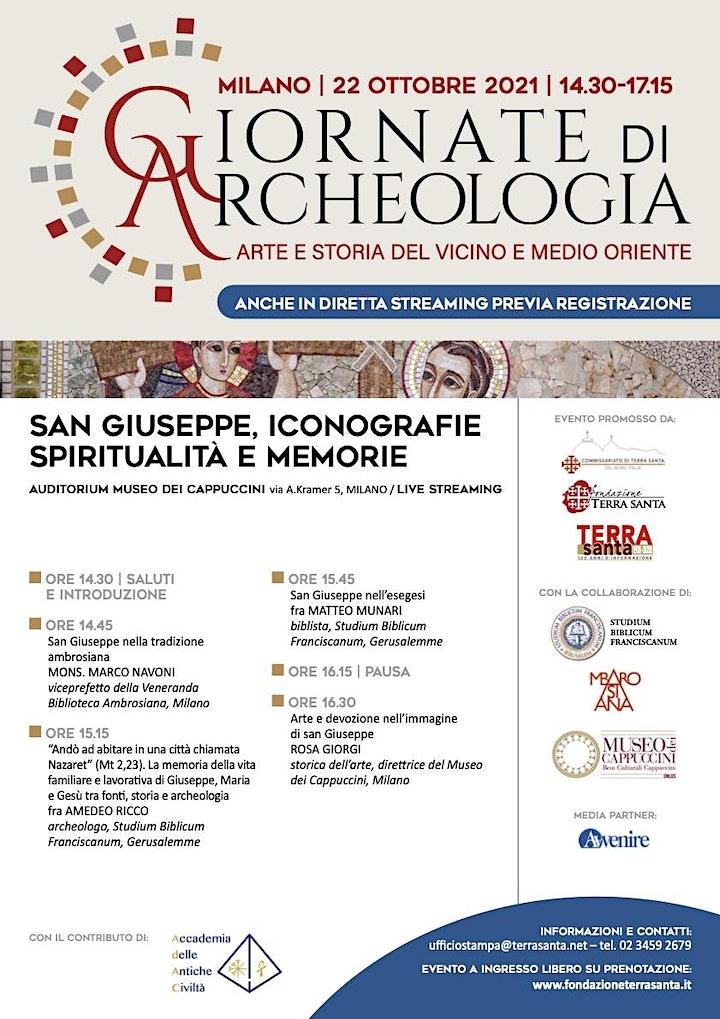 Immagine San Giuseppe: iconografia, spiritualità e memorie