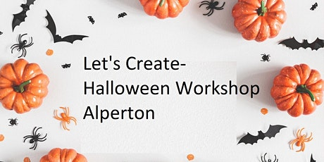 Let's Create- Halloween Mask Workshop Alperton tickets