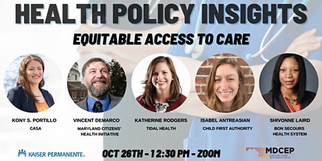 Health Policy Insights: Equitable Access to Care tickets