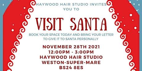 Santa at Haywood Hair Studios Christmas Fayre tickets