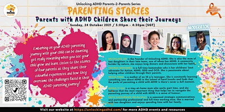 Parenting Stories: Parents with ADHD Children Share their Journeys tickets