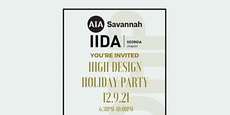 High Design Holiday Party 2021 tickets