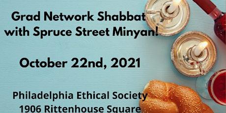 Grad Network Shabbat with Spruce Street Minyan tickets