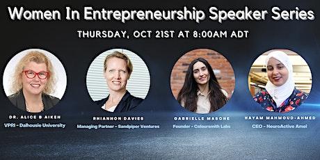 Women in Entrepreneurship Speaker Series tickets
