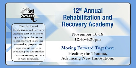 Moving Forward Together; Healing the Trauma, Advancing New Innovations tickets