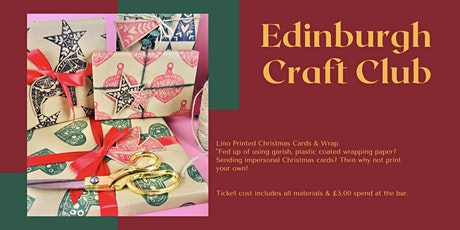 Support The Makers Christmas Workshop - Edinburgh Craft Club tickets