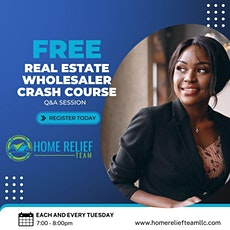 Real Estate Wholesaling Training tickets