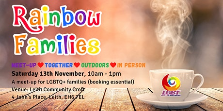 Rainbow Families Meet-up at Leith Community Croft tickets