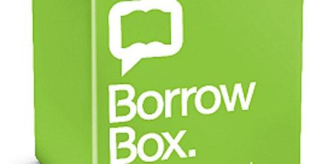 How to use BorrowBox / Sut i ddefnyddio BorrowBox tickets