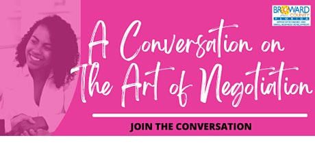 A Conversation on the Art of Negotiation tickets