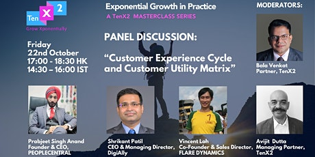 Customer Experience Cycle and  Customer Utility Matrix tickets