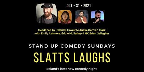 Slatts Laughs Comedy Club tickets